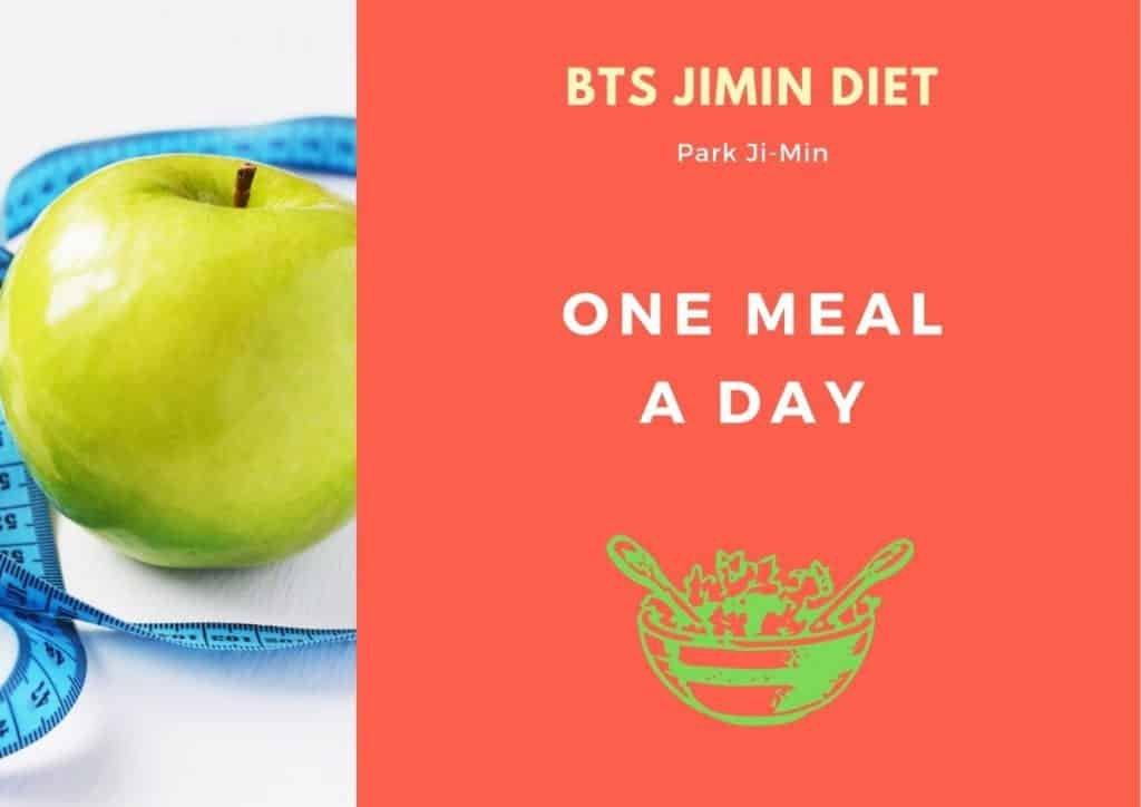 BTS Jimin Diet