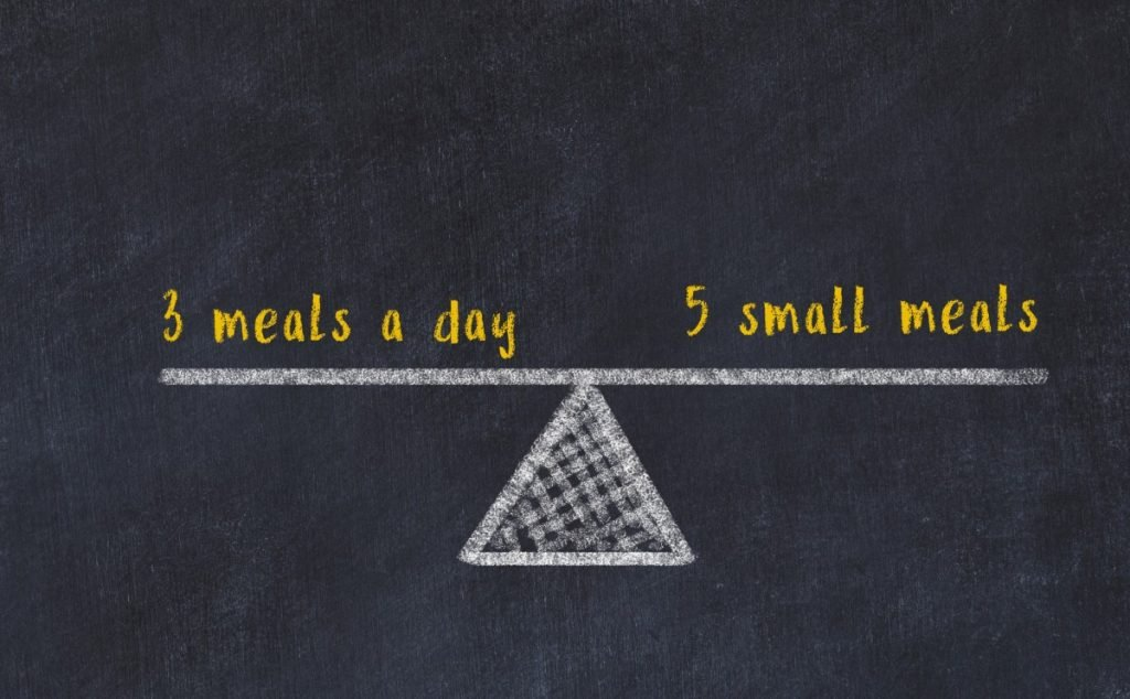 Eat more often but smaller meals