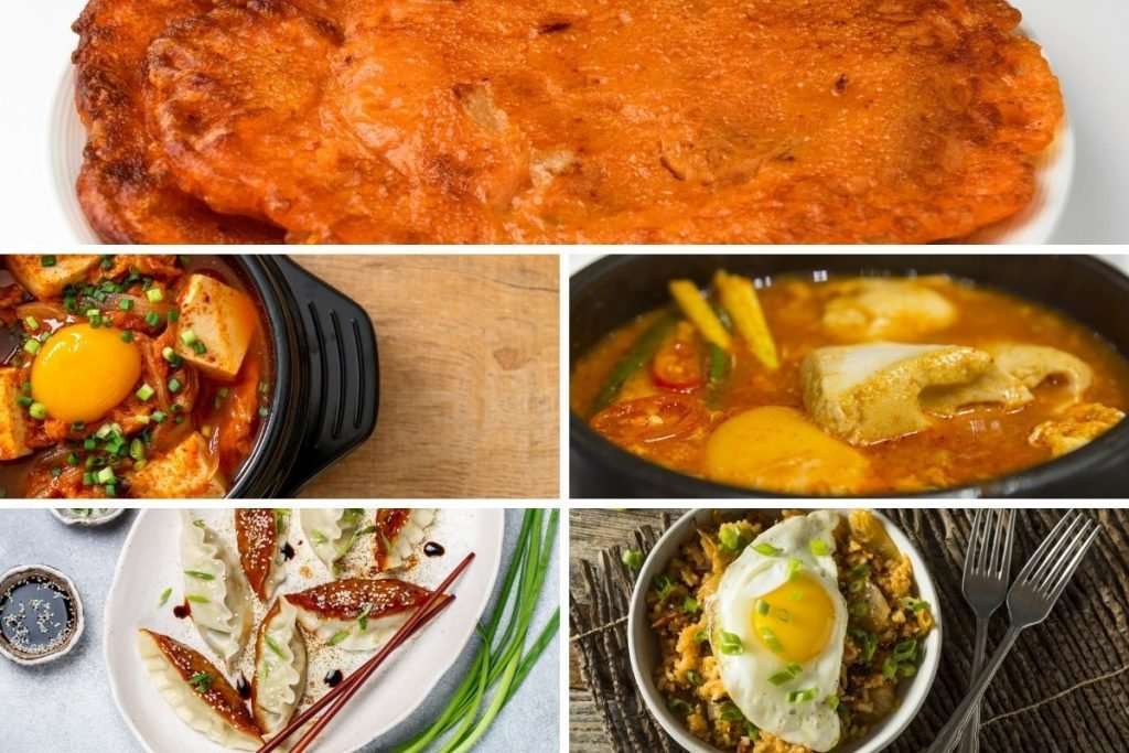 Different Types of Kimchi Dishes