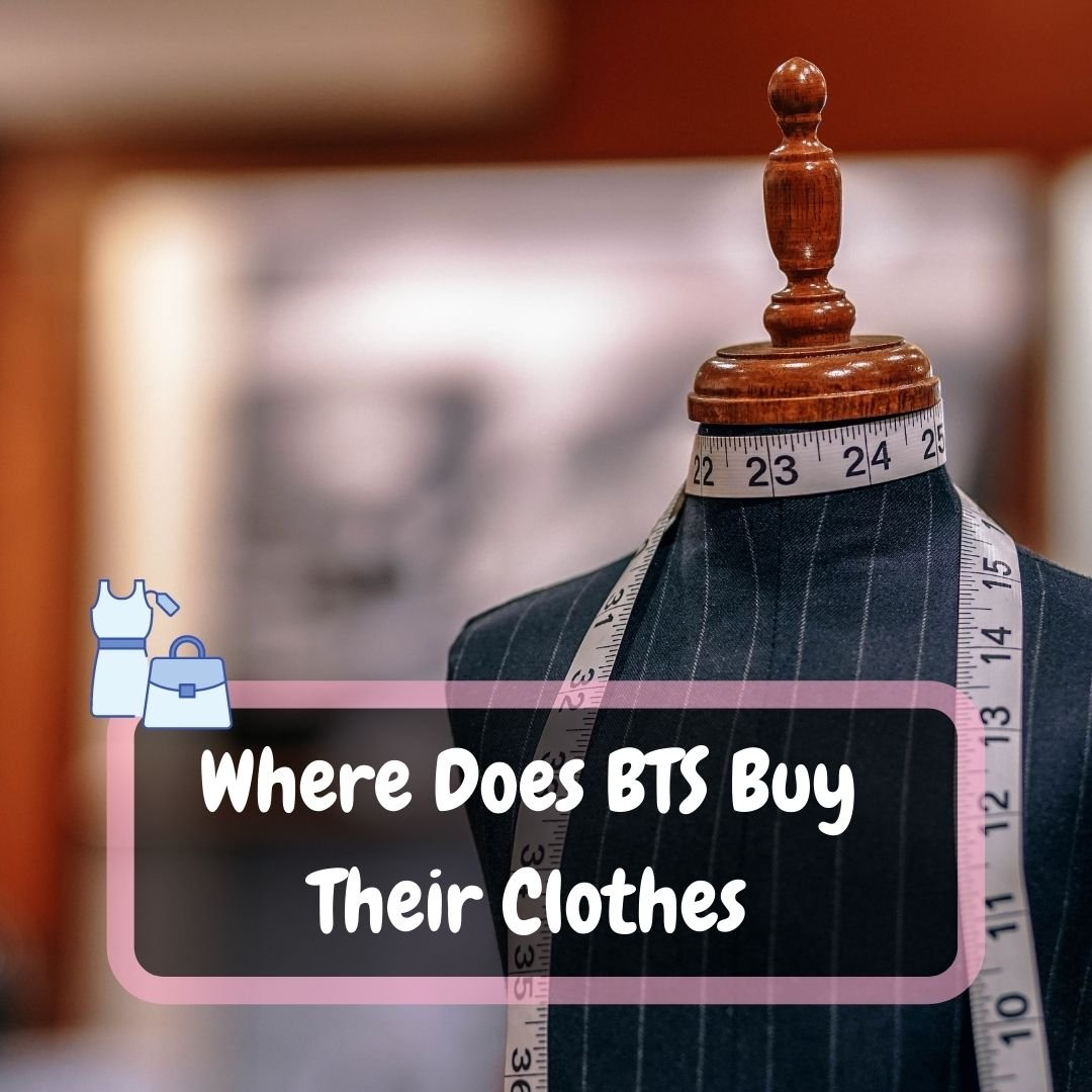 Where Does BTS Buy Their Clothes