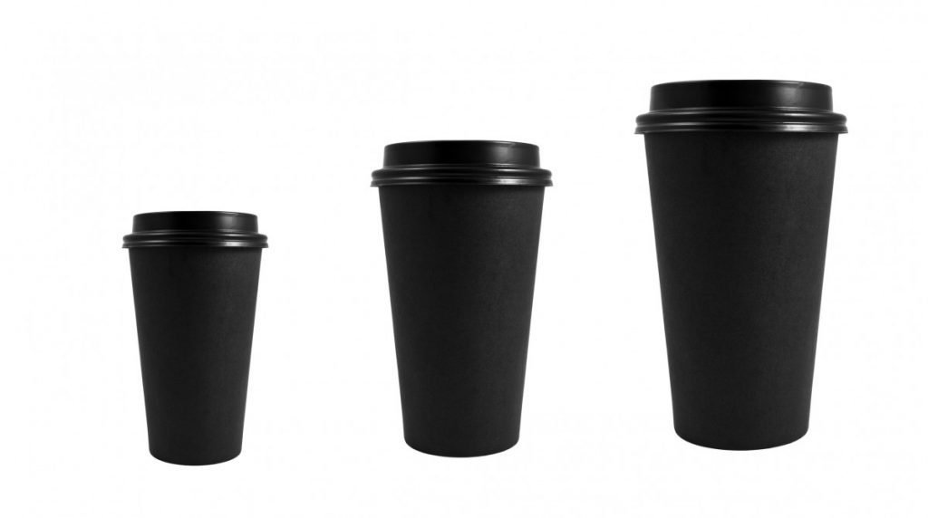 Different Sizes of the Paper Cup Diet