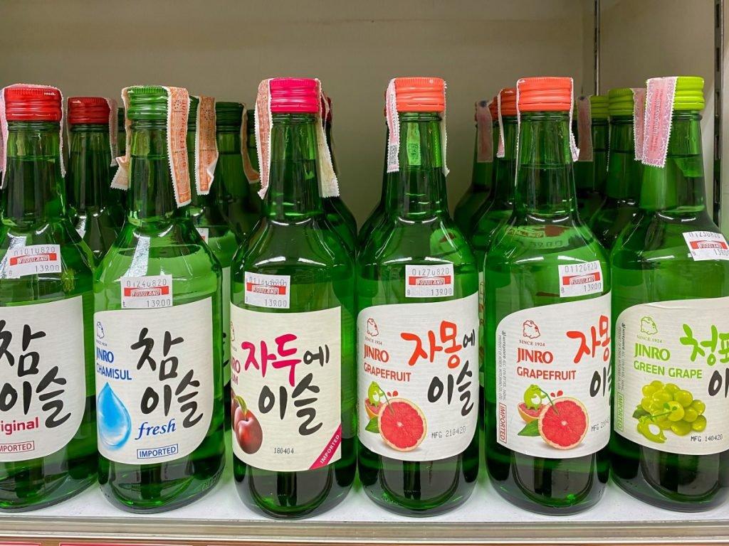 Green Grape soju