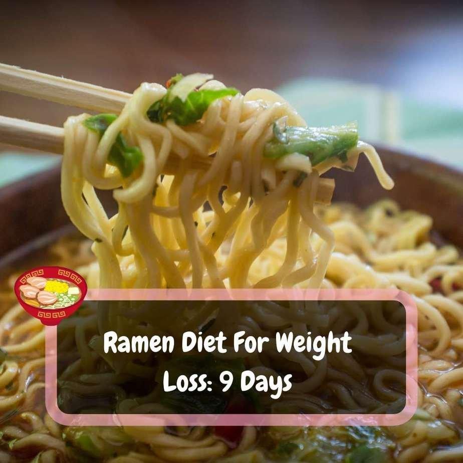 ramen diet