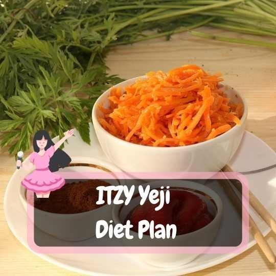itzy yeji diet plan